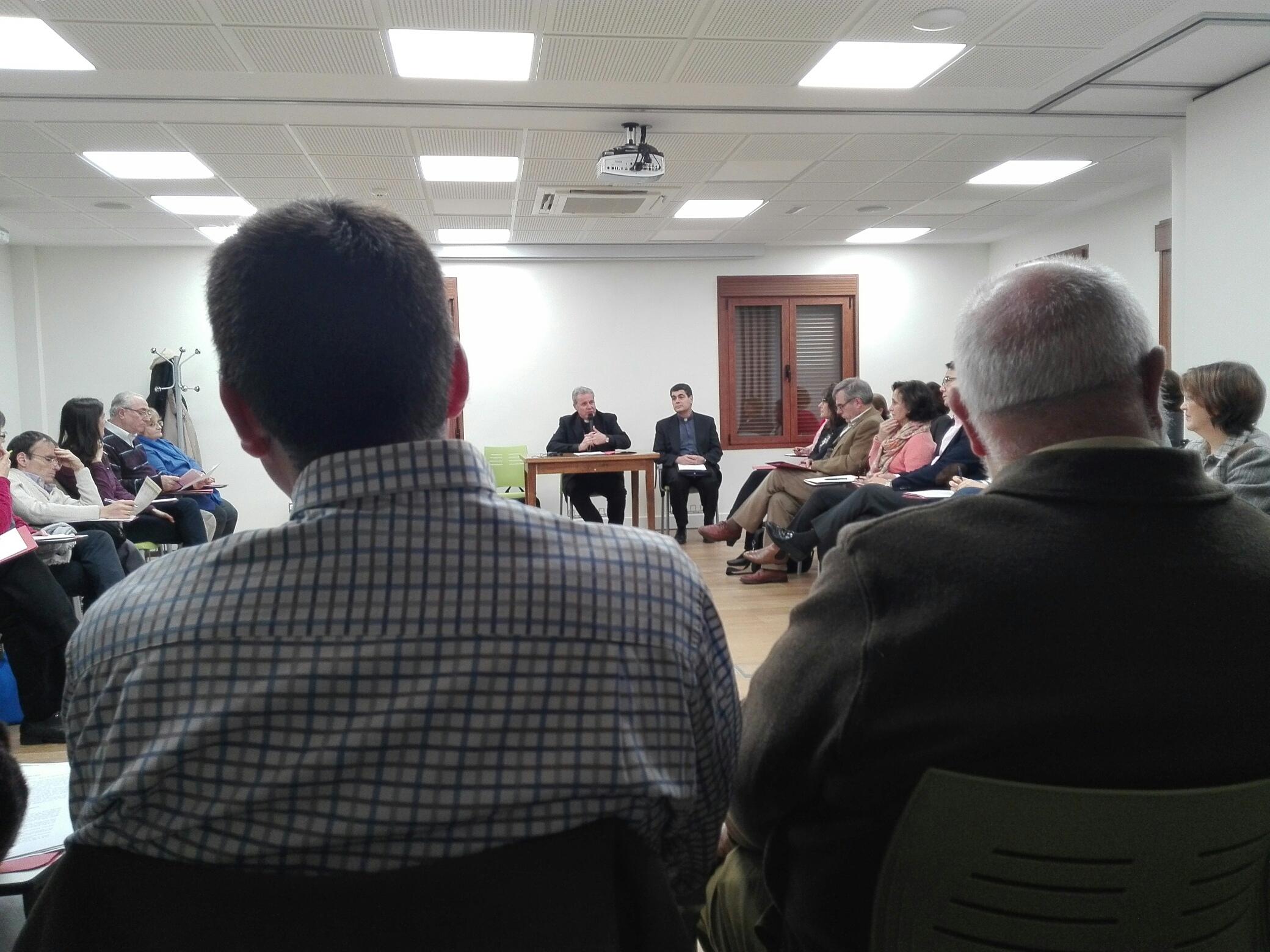 Reunión de COFs en Madrid; Delegación de Pastoral Familiar española