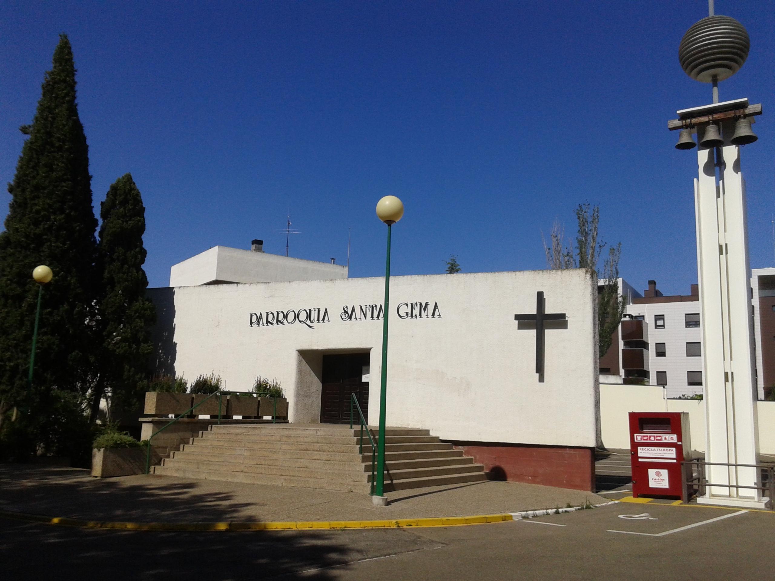 Presentación del COF en la parroquia de Santa Gema