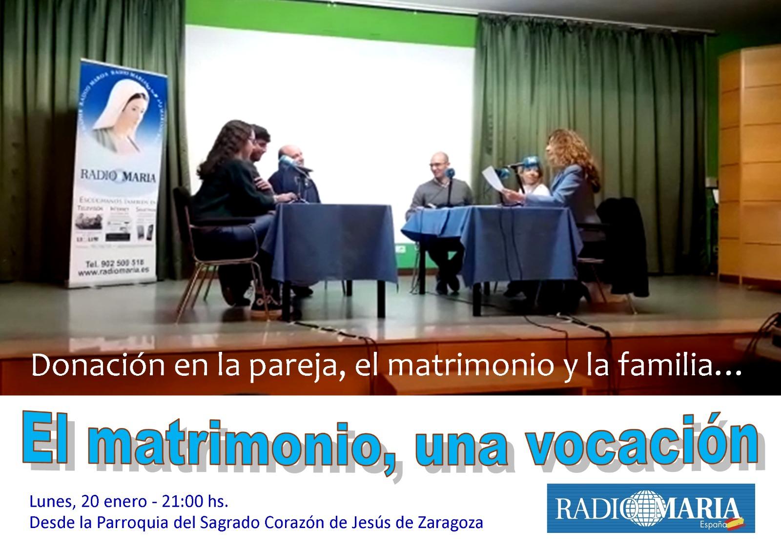 Radio María «El matrimonio, una vocación»