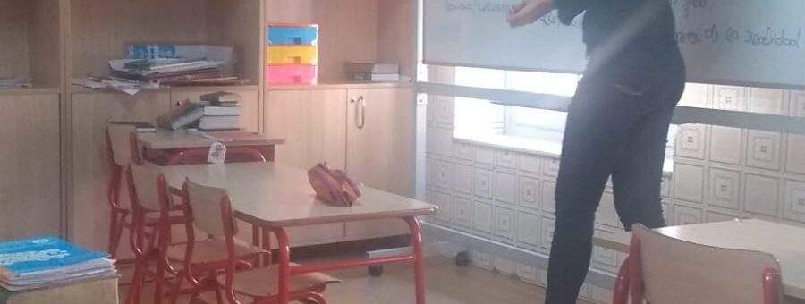El COF en el colegio Escolanía Infantes del Pilar