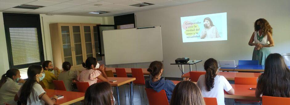 ¡Sesión de afectividad y sexualidad en Asociación Los Bancales (Huesca)!