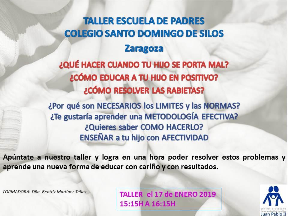 Escuela de padres colegio Santo Domingo de Silos