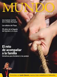 Participación en la revista MUNDO CRISTIANO