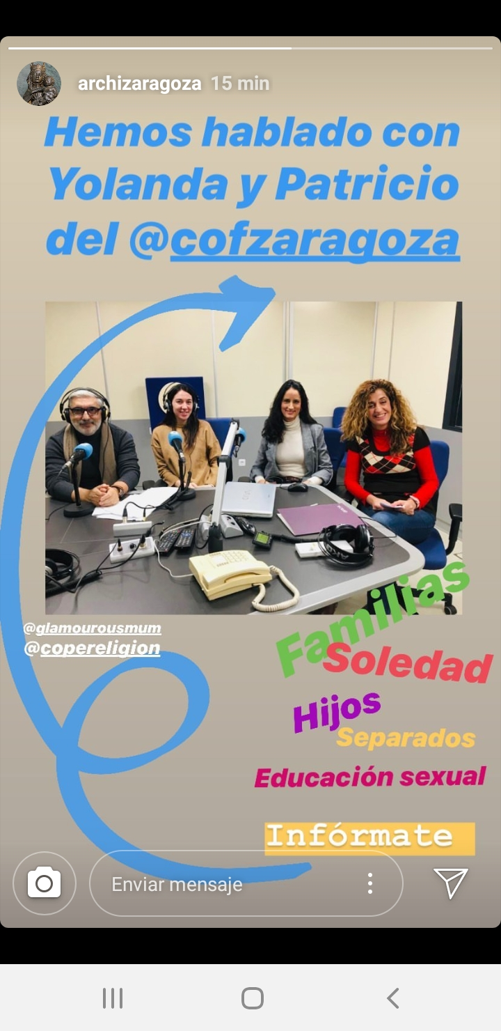 «El Espejo de la Iglesia en Zaragoza» COPE