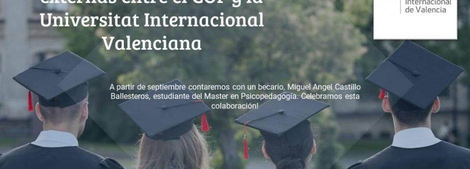 Colaboración con la Universitat Internacional de Valencia