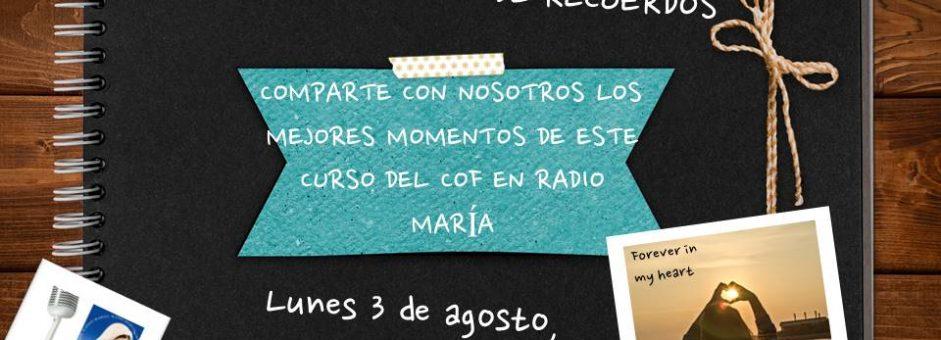 Una intensa colaboración con Radio María…