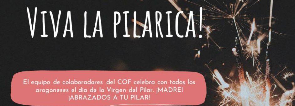 Viva la Santísima Virgen del Pilar!