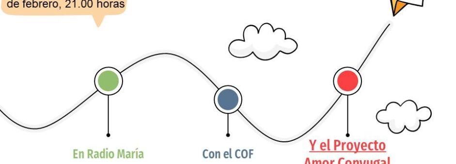 El COF, Radio María y Proyecto Amor Conyugal, no hay mejor trío!